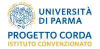 Logo progetto Corda Unipr