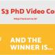 S3 PHD VIDEO CONTEST